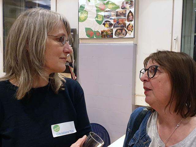 Christiane Pütz und Jutta Blüggel-Kolling