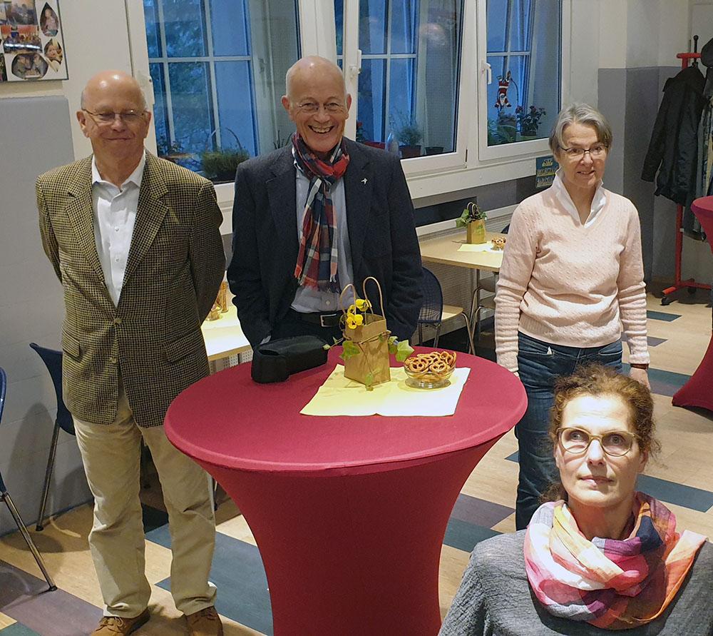 Andreas Rothe, Klaus Wermker, Hanne Seiltgen, Anke Bee