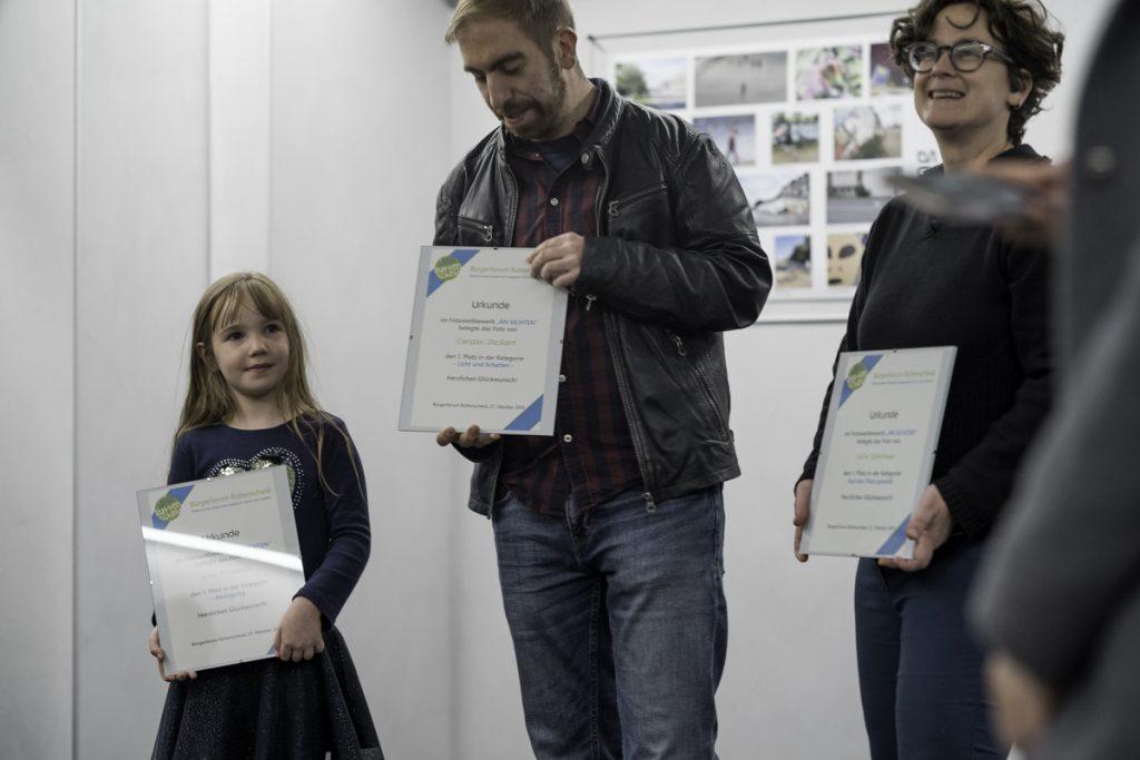 Alle drei PreisträgerInnen