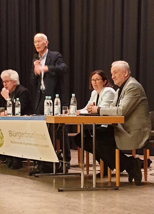 Die ExpertInnen des Bürgerforums vom 3.3.2020
