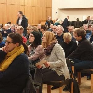 Ein Blick in die Reihen der TeilnehmerInnen