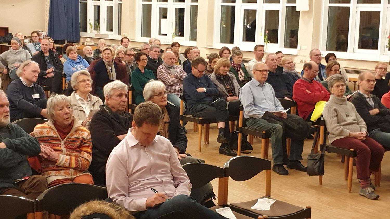 TeilnehmerInnen am Bürgerforum